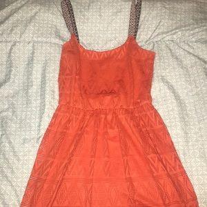 Burnt Orange Summer Dress